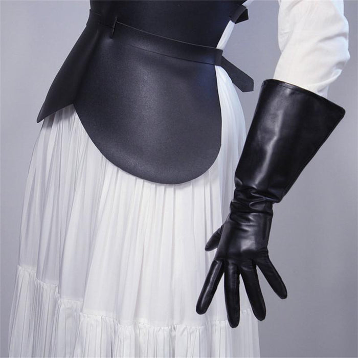 Drag-Drag Gloves - Warrior-Black-Real Leather