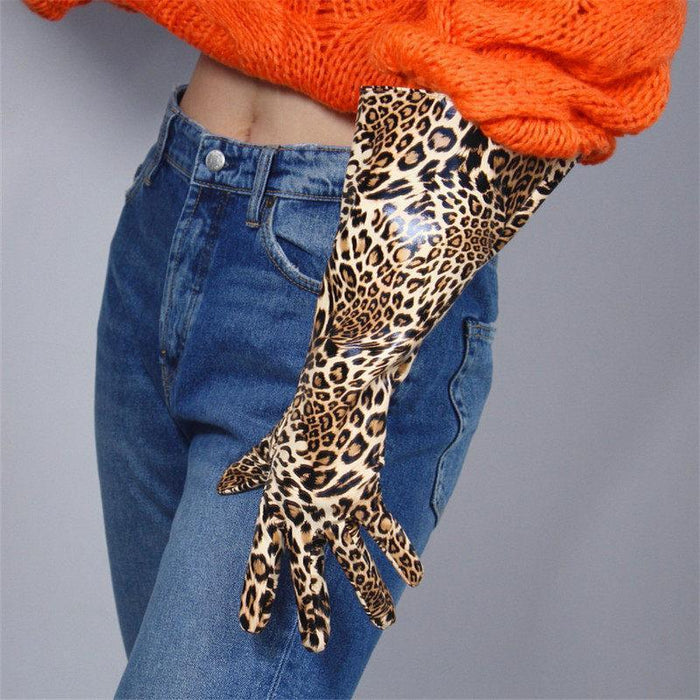 Drag-Drag Gloves - Warrior-Leopard-Leopard 1-