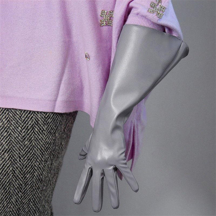 Drag-Drag Gloves - Warrior-Light Grey-