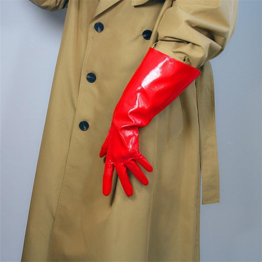 Drag-Drag Gloves - Warrior-Red-Shine