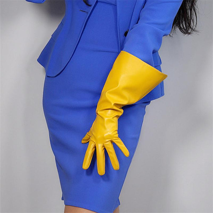 Drag-Drag Gloves - Warrior-Yellow-