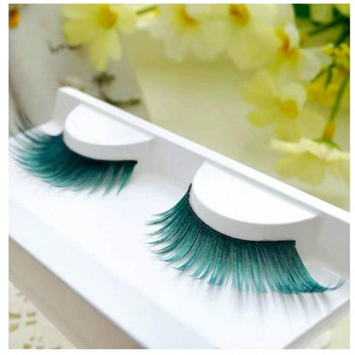 Drag-Drag Queen Eyelashes - Turquoise-