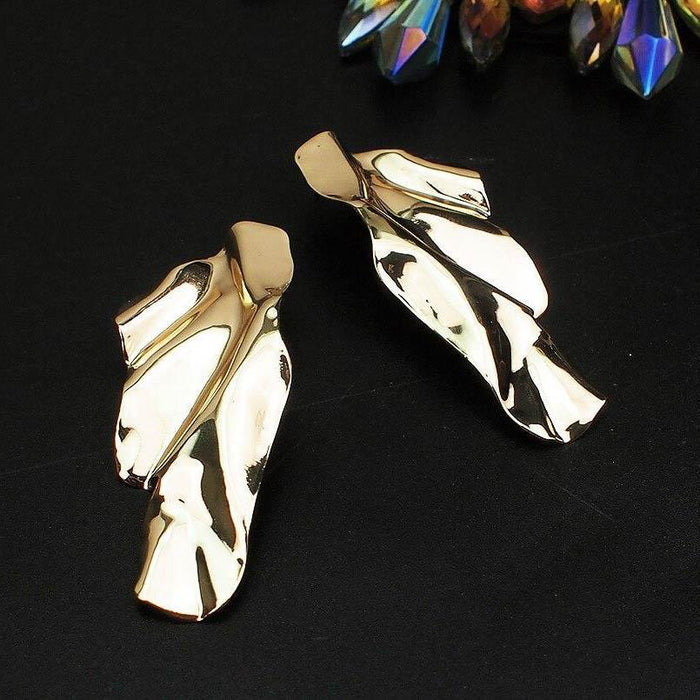 Drag-Drop Earrings - Molten-