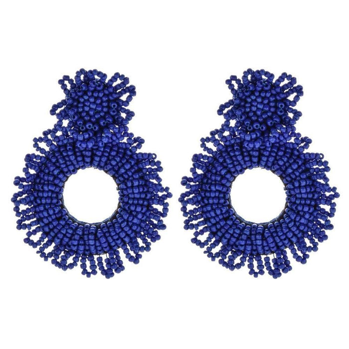 Drag-Earrings - Bede-Blue-