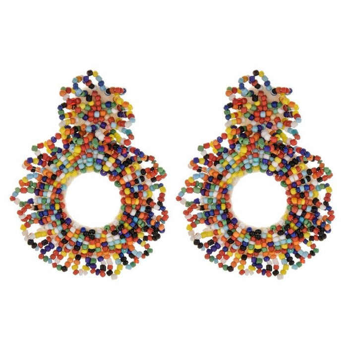 Drag-Earrings - Bede-Multi-