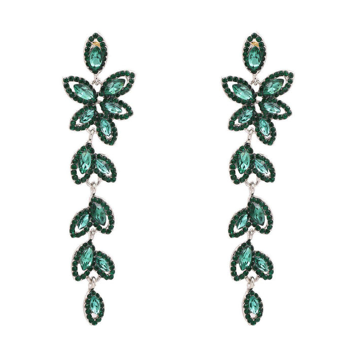 Drag-Earrings - Florence-Green-The Drag Room