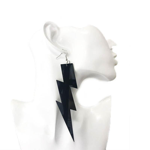 Drag-Earrings - Lightning Strike-