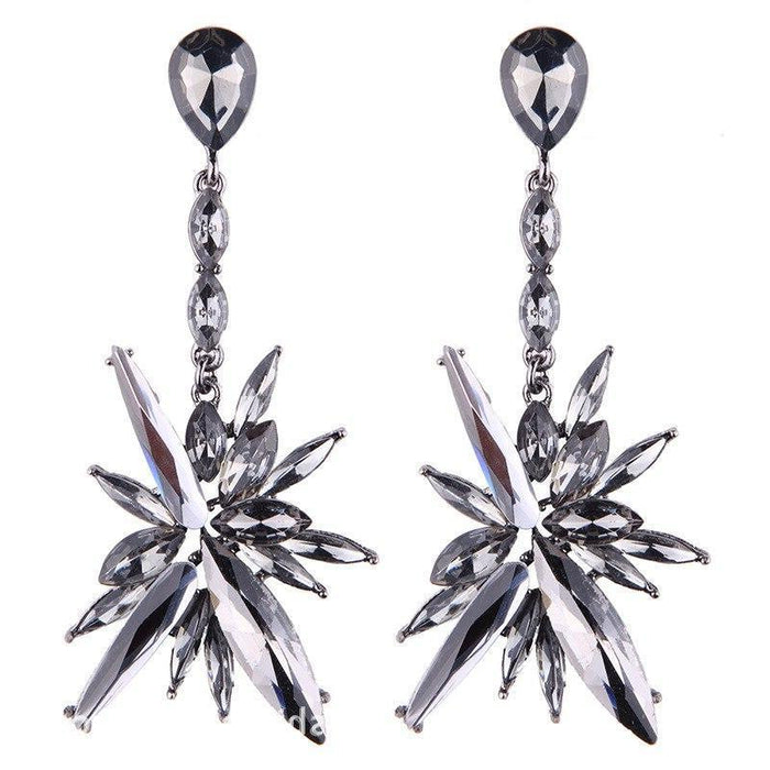 Drag-Earrings - Starfall-Gray-