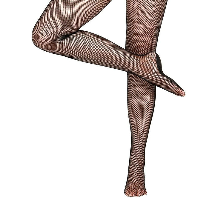 Drag-Fishnet Tights - Strong Professional Dance Fishnets-Black-L/XL-The Drag Room