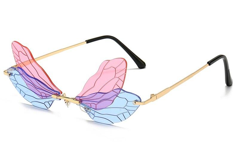 Drag-Sunglasses - Dragonfly-Pink-The Drag Room