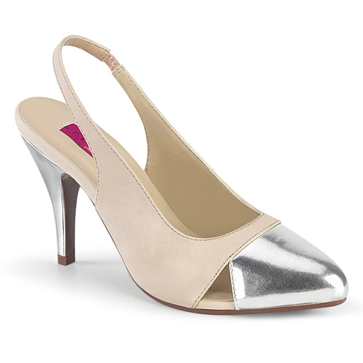 Pleaser Pink Label DRE405/BEPU-SMPU Drag Footwear by Pleaser, available to buy at The Drag Room
