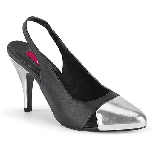 Pleaser Pink Label DRE405/BPU-SMPU Drag Footwear by Pleaser, available to buy at The Drag Room