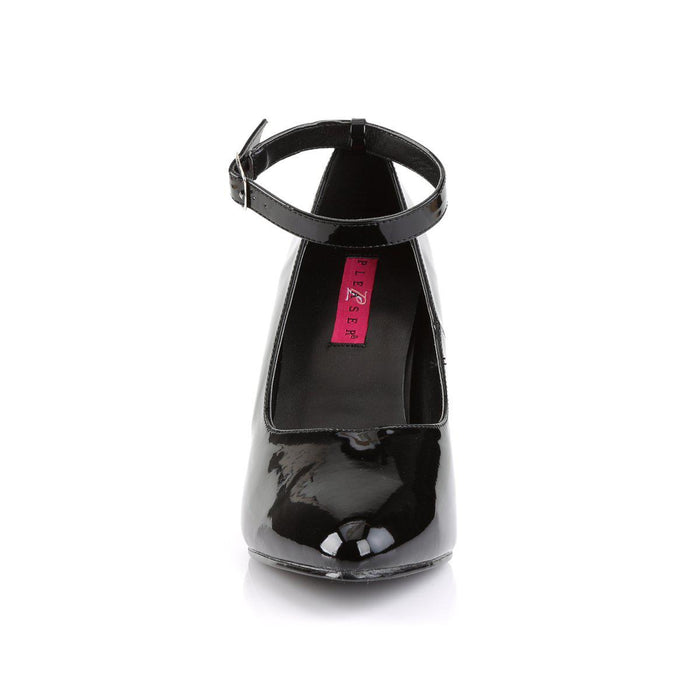 Pleaser Pink Label DRE431/B Drag Footwear by Pleaser, available to buy at The Drag Room