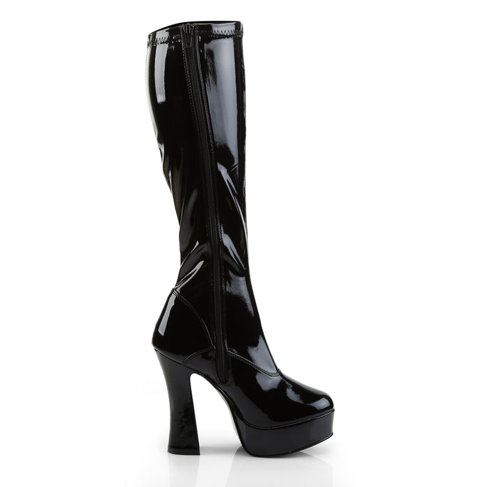 Pleaser ELE2000Z/B Drag Platform Shoes by Pleaser, available to buy at The Drag Room