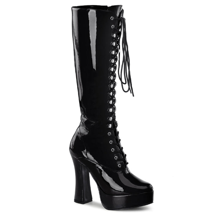 Pleaser ELE2020/B Drag Platform Shoes by Pleaser, available to buy at The Drag Room