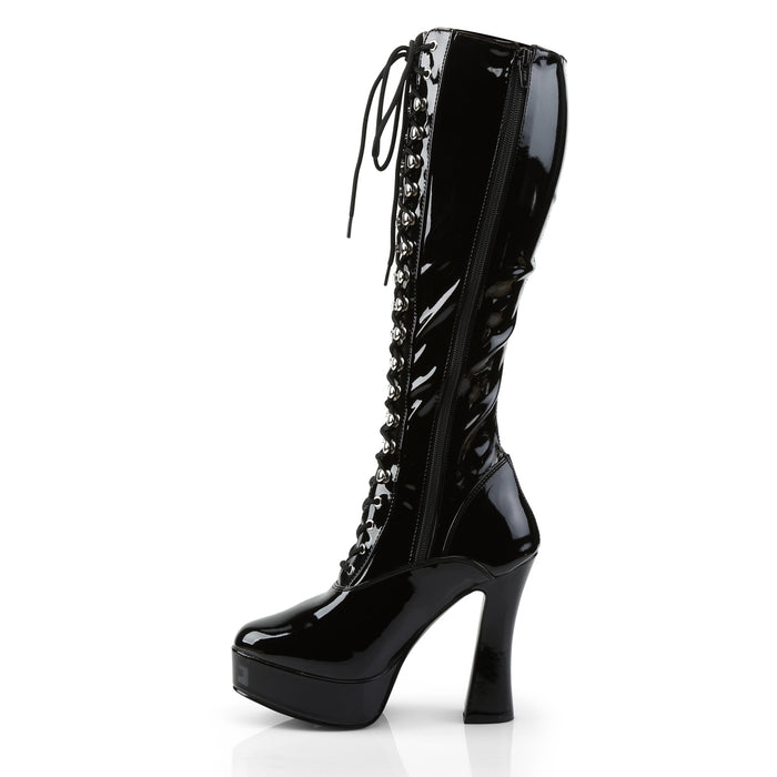 Pleaser ELE2023/B Drag Platform Shoes by Pleaser, available to buy at The Drag Room