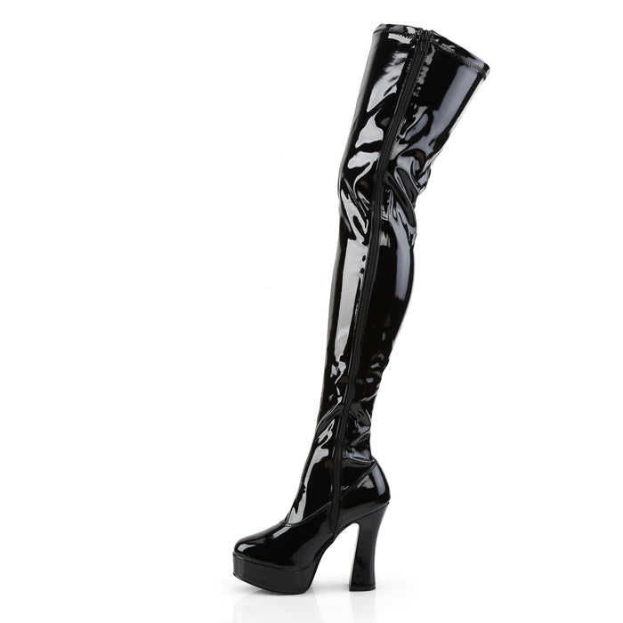 Pleaser ELE3000Z/B Drag Platform Shoes by Pleaser, available to buy at The Drag Room