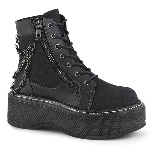 Demonia EMI114/BCA-VL Drag Boots by Pleaser, available to buy at The Drag Room