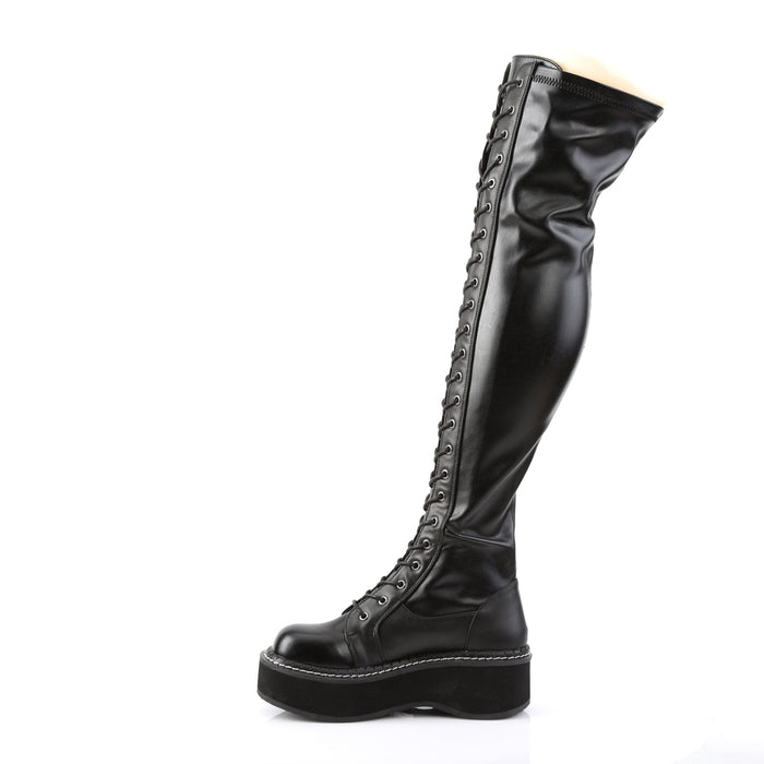 Demonia EMI375/BVL Drag Boots by Pleaser, available to buy at The Drag Room