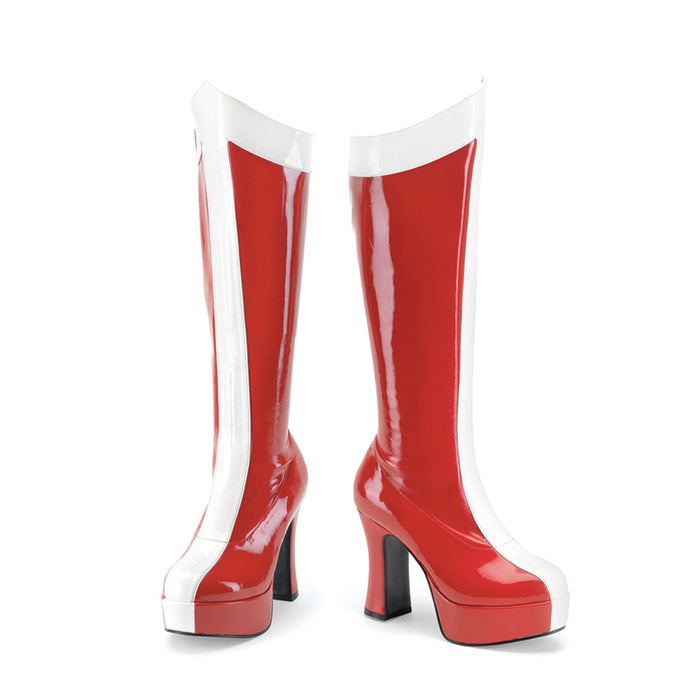 Funtasma EXO305/RW Drag Boots by Pleaser, available to buy at The Drag Room