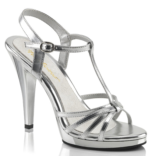 Fabulicious FLA420/SMPU/C Drag Shoes by Pleaser, available to buy at The Drag Room