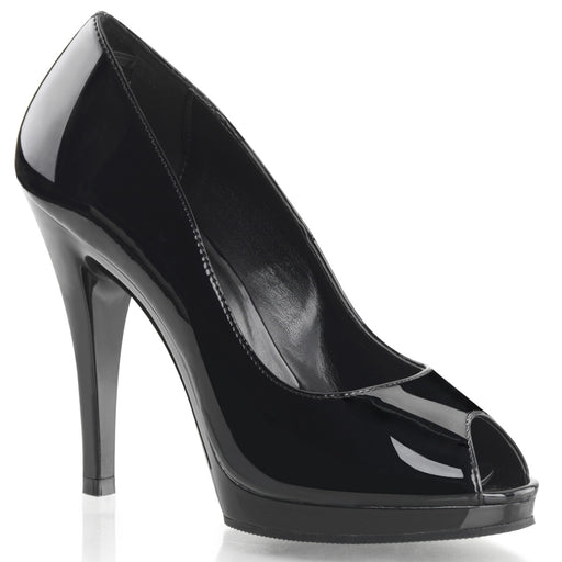 Fabulicious FLA474/B/M Drag Shoes by Pleaser, available to buy at The Drag Room