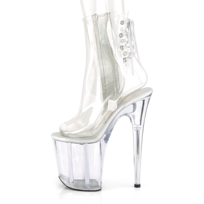 Pleaser FLAM1018C/C/M Drag Platform Shoes by Pleaser, available to buy at The Drag Room