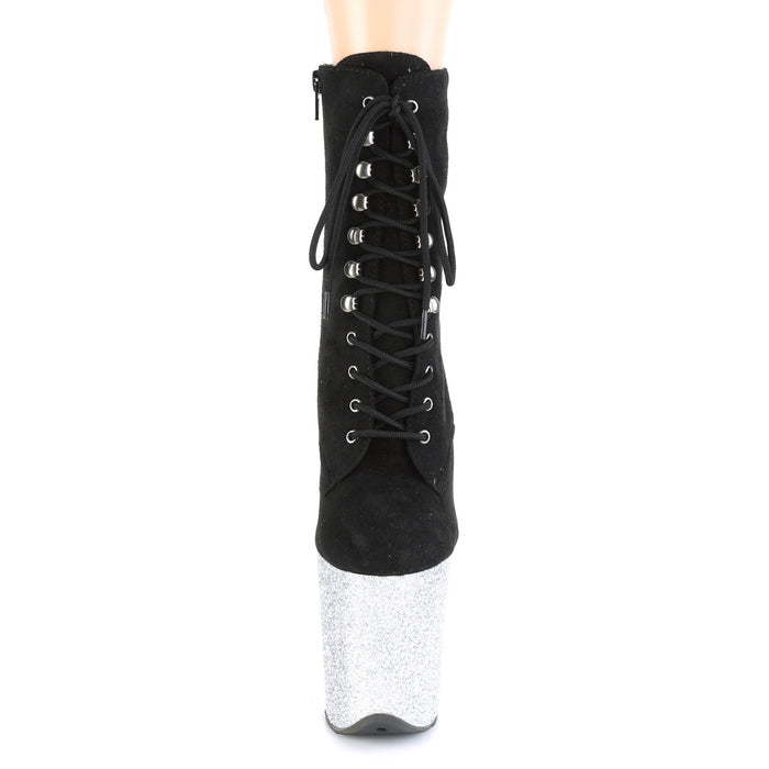 Pleaser FLAM1020FSMG/BFS/SG Drag Platform Shoes by Pleaser, available to buy at The Drag Room