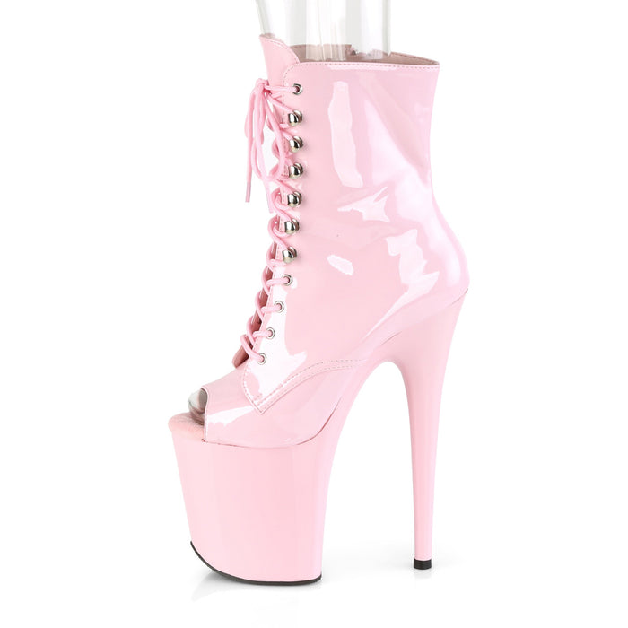 Pleaser FLAM1021/BP/M Drag Platform Shoes by Pleaser, available to buy at The Drag Room
