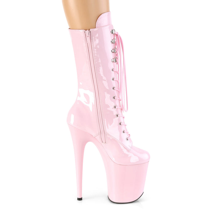 Pleaser FLAM1050/BP/M Drag Platform Shoes by Pleaser, available to buy at The Drag Room