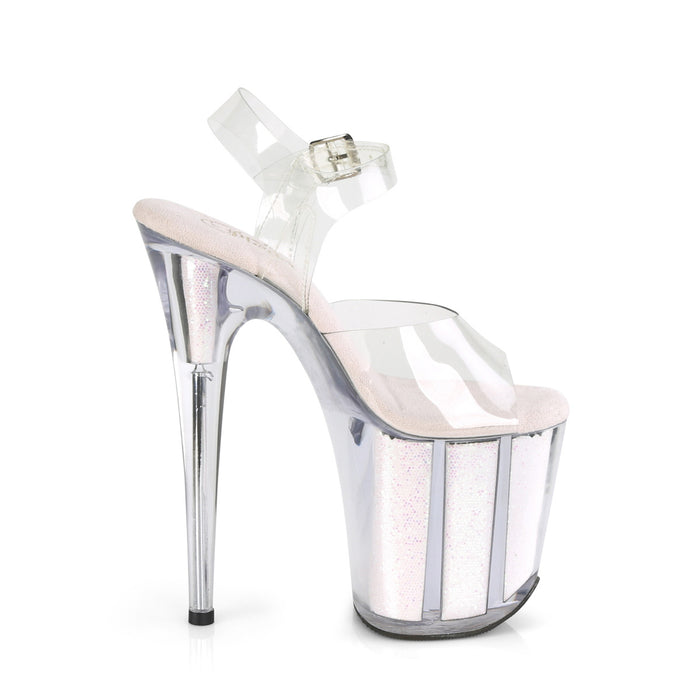 Pleaser FLAM808G/C/OPG Drag Platform Shoes by Pleaser, available to buy at The Drag Room