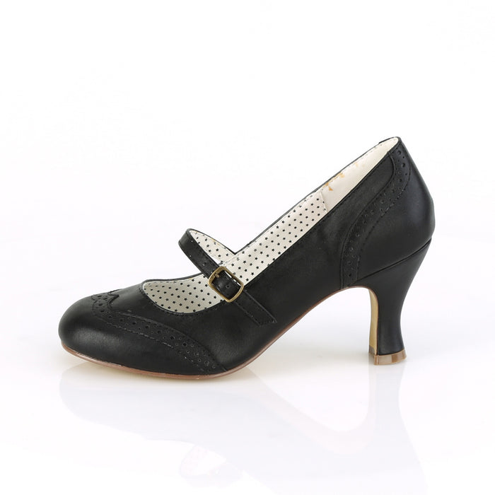 Pin Up Couture FLAP32/BPU Drag Footwear by Pleaser, available to buy at The Drag Room