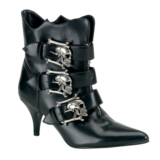 Demonia FURY06/B/NPU Drag Boots by Pleaser, available to buy at The Drag Room