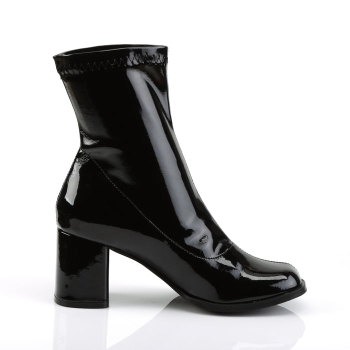 Funtasma GOGO150/B Drag Boots by Pleaser, available to buy at The Drag Room