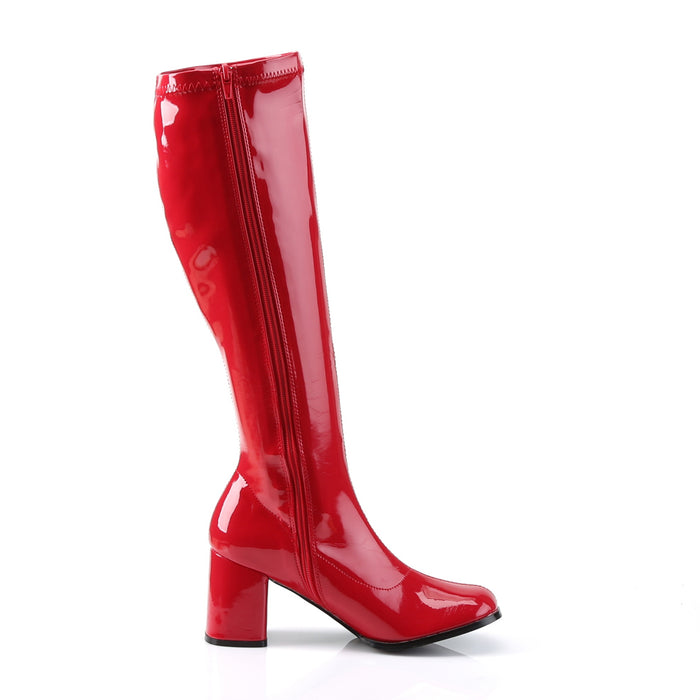 Funtasma GOGO300/R Drag Boots by Pleaser, available to buy at The Drag Room