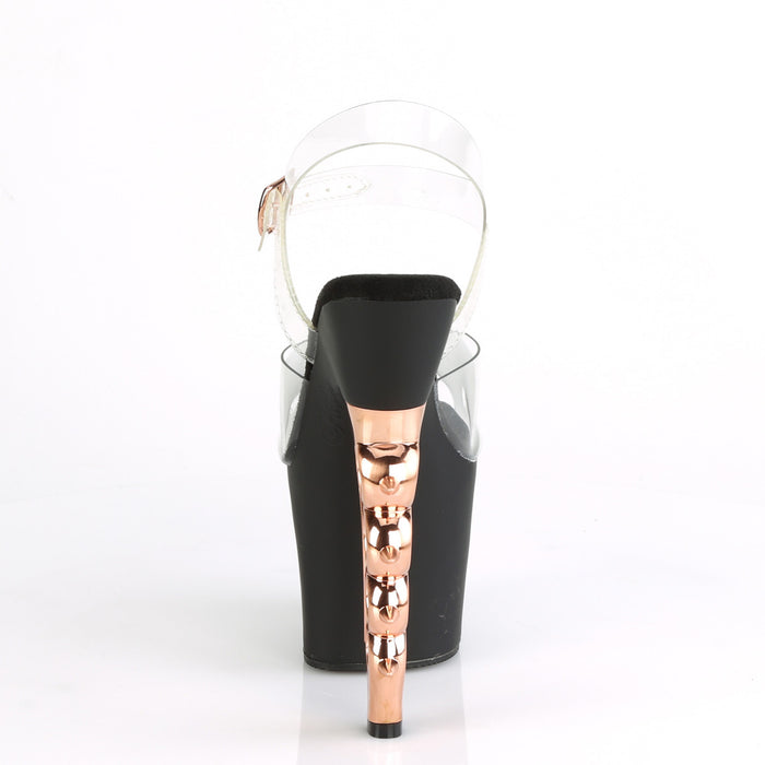 Pleaser IRGP708/C/B-ROGDCH Drag Platform Shoes by Pleaser, available at The Drag Room