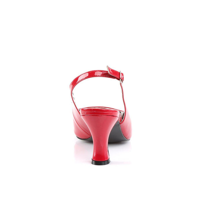 Pleaser Pink Label JENNA02/R Drag Footwear by Pleaser, available to buy at The Drag Room