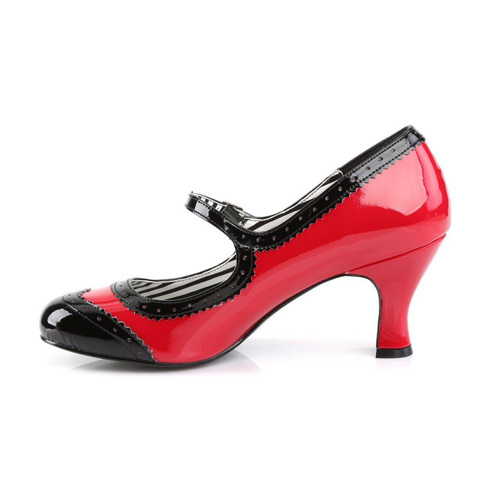 Pleaser Pink Label JENNA06/R-B Drag Footwear by Pleaser, available to buy at The Drag Room