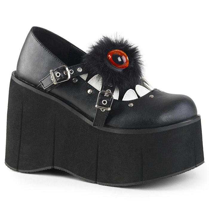 Demonia KERA11/B-WVL Drag Shoes by Pleaser, available to buy at The Drag Room