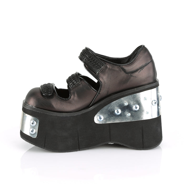 Demonia KERA13/B-PWVL Drag Shoes by Pleaser, available to buy at The Drag Room