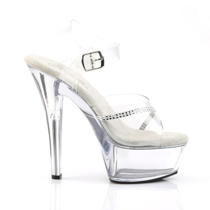 Pleaser KISS208R/C/M Drag Platform Shoes by Pleaser, available to buy at The Drag Room