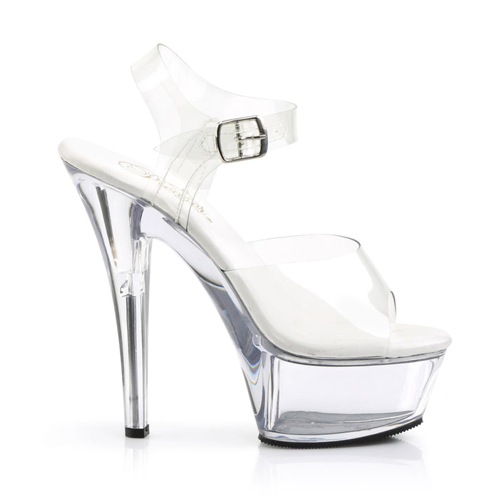 Pleaser KISS208VL/C/M Drag Platform Shoes by Pleaser, available to buy at The Drag Room
