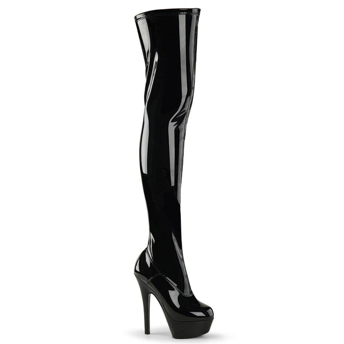 Pleaser KISS3000/B/M Drag Platform Shoes by Pleaser, available to buy at The Drag Room