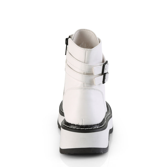 Demonia LILITH152/WVL Drag Boots by Pleaser, available to buy at The Drag Room