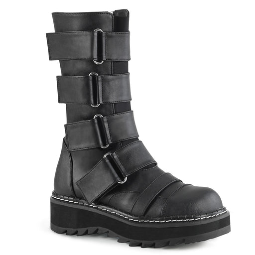 Demonia LILITH211/BVL Drag Boots by Pleaser, available to buy at The Drag Room