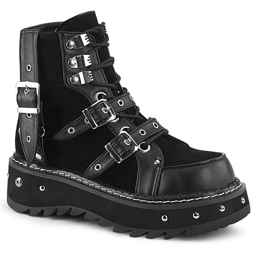 Demonia LILITH278/BVL-VSUE Drag Boots by Pleaser, available to buy at The Drag Room