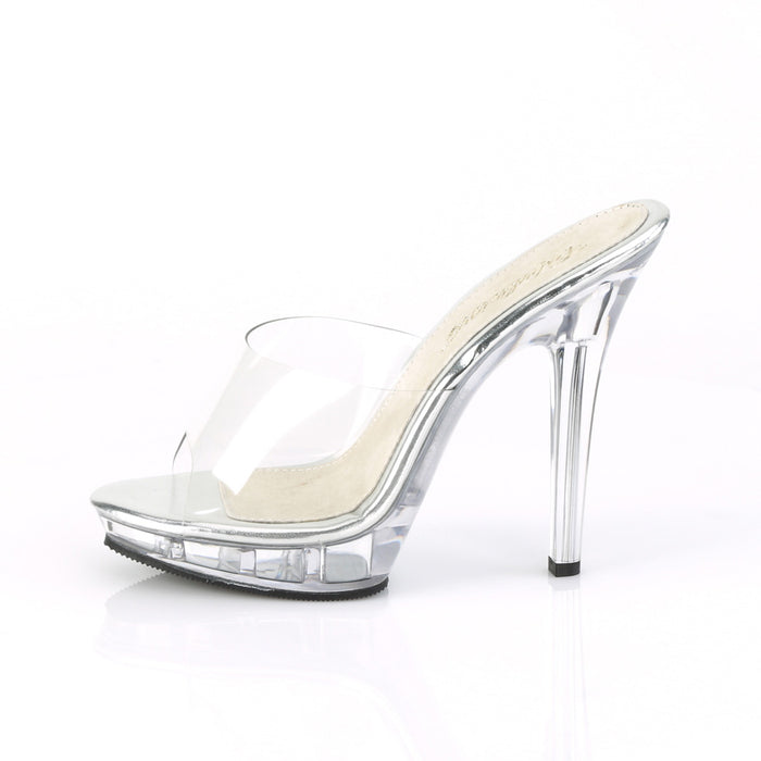 Fabulicious LIP101/C/M Drag Shoes by Pleaser, available to buy at The Drag Room