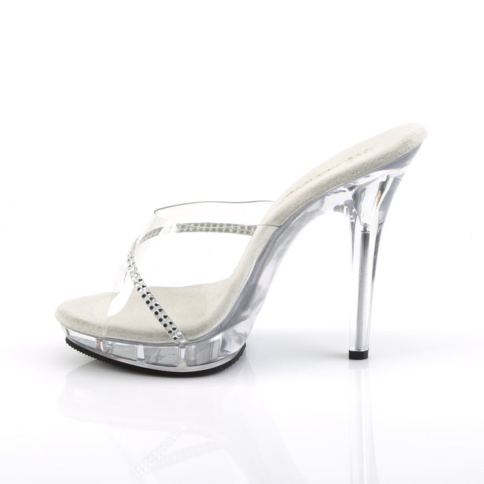Fabulicious LIP101R/C/RS Drag Shoes by Pleaser, available to buy at The Drag Room