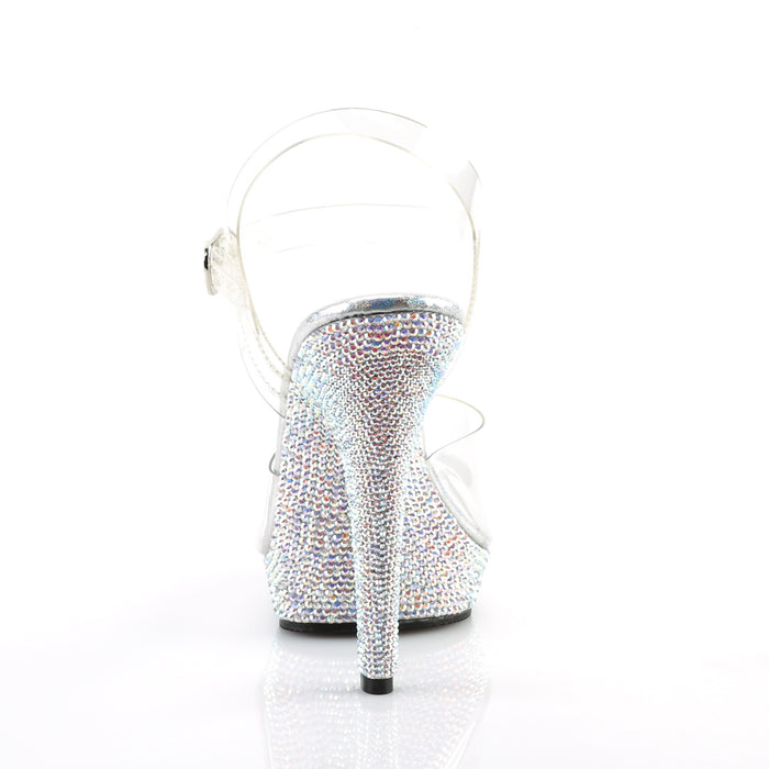 Fabulicious LIP108DM/C/SMCRS Drag Shoes by Pleaser, available to buy at The Drag Room