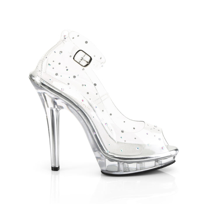 Fabulicious LIP183/C/M Drag Shoes by Pleaser, available to buy at The Drag Room